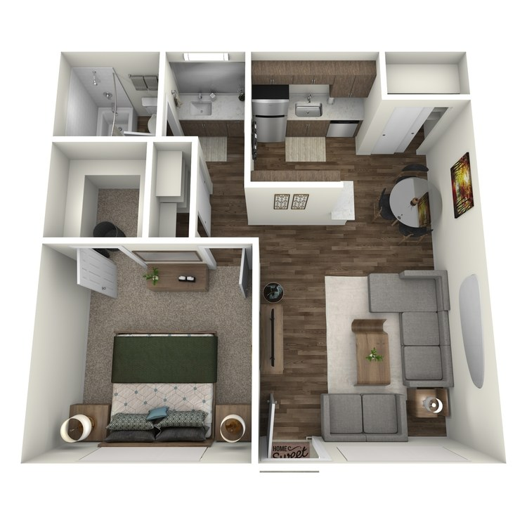 One Bed One Bath A